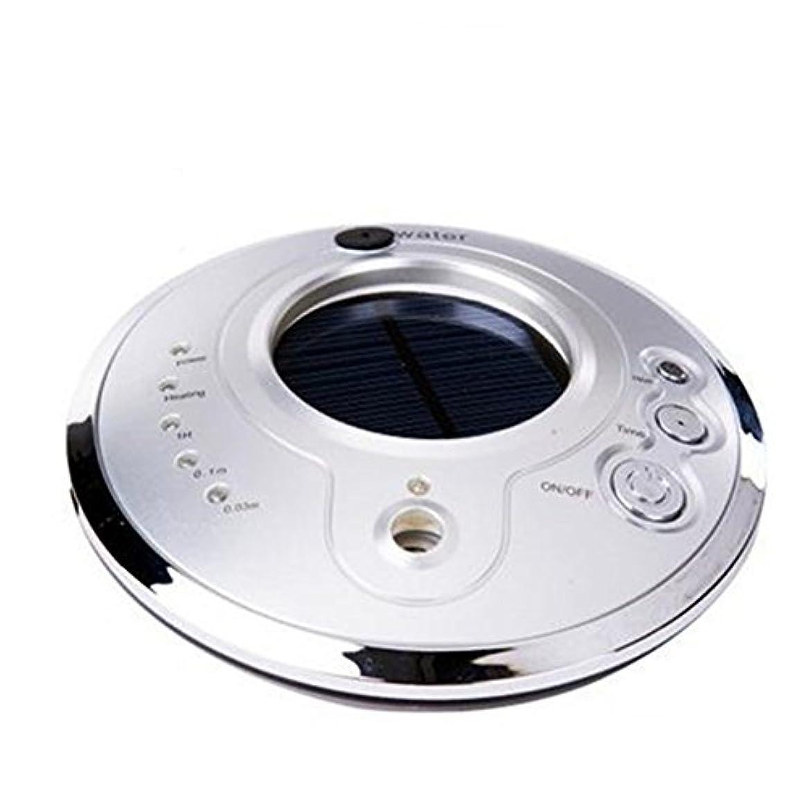 心配ブロック差Auroraloveイオン空気清浄機Fresher USB車空気加湿器、ソーラーイオン加湿器、アロマセラピー車Essential Oil Diffuser、超音波車モードで調節可能なミスト加湿器 シルバー