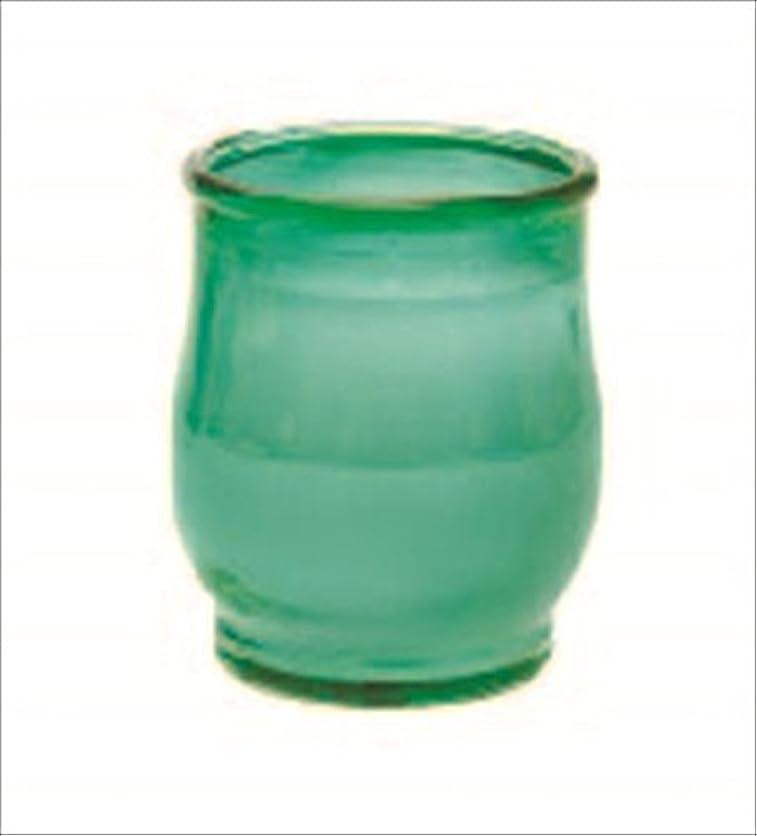 寛大なうなる住所kameyama candle(カメヤマキャンドル) ポシェ 「 グリーン 」(73020040G)