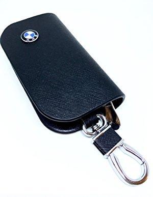 ビーエムダブリュー BMW スマートキーケース 黒 ブラック 「本革使用」 [並行輸入品]