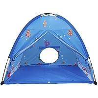 Homfu キントッズテ 子供 テント 折り畳み式 あそびと知育 秘密基地 室内室外テント お誕生日 出産祝いのプレゼント 収納バッグ付