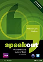 Speakout (1E) Pre-Intermediate Student Book with DVD/ActiveBook CD-ROM