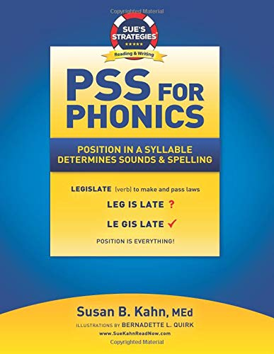 Download Pss for Phonics: Position in a Syllable Determines Sounds & Spelling 1726295400
