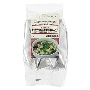 無印良品 食べるスープ オクラ入りねばねば野菜のスープ 4食