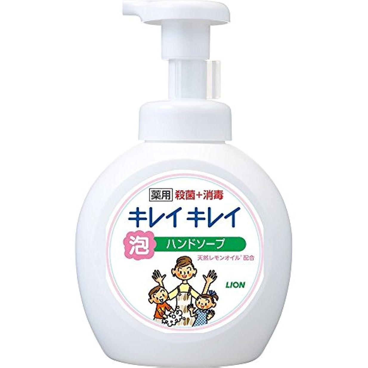 電池近く優れましたキレイキレイ 薬用 泡ハンドソープ シトラスフルーティの香り 本体ポンプ 大型サイズ 500ml(医薬部外品)