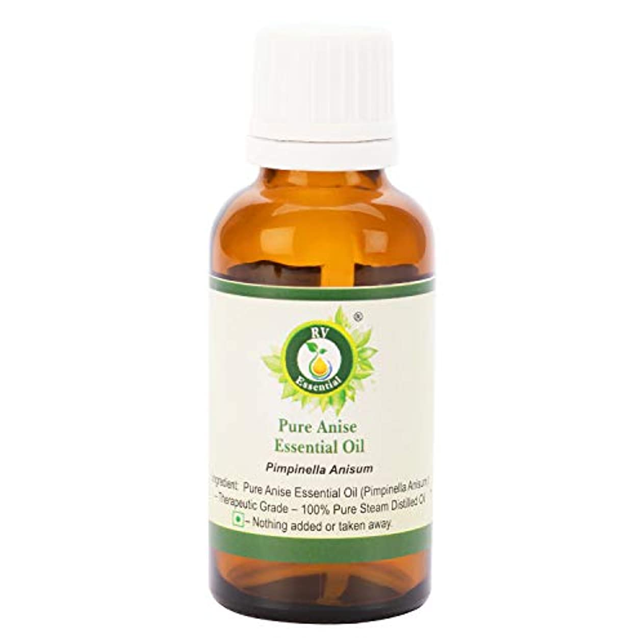 賛辞地獄ソロピュアアニスエッセンシャルオイル10ml (0.338oz)- Pimpinella Anisum (100%純粋&天然スチームDistilled) Pure Anise Essential Oil