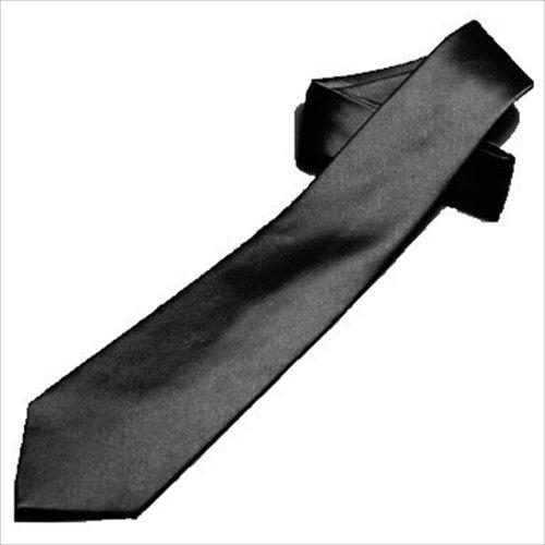 礼装 上質なシルク ネクタイ 黒(無地)ブラック(漆黒) お葬式 お通夜 法事用 弔事用フォーマル