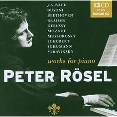 ペーター・レーゼル独奏 ピアノ曲集(13枚組+1)の商品写真
