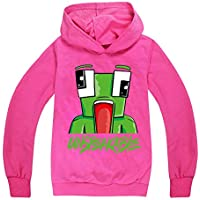 Dgfstm UNSPEAKABLE Kids YouTube Gamer Hoody T-Shirt for Boys Girls Tees Tops