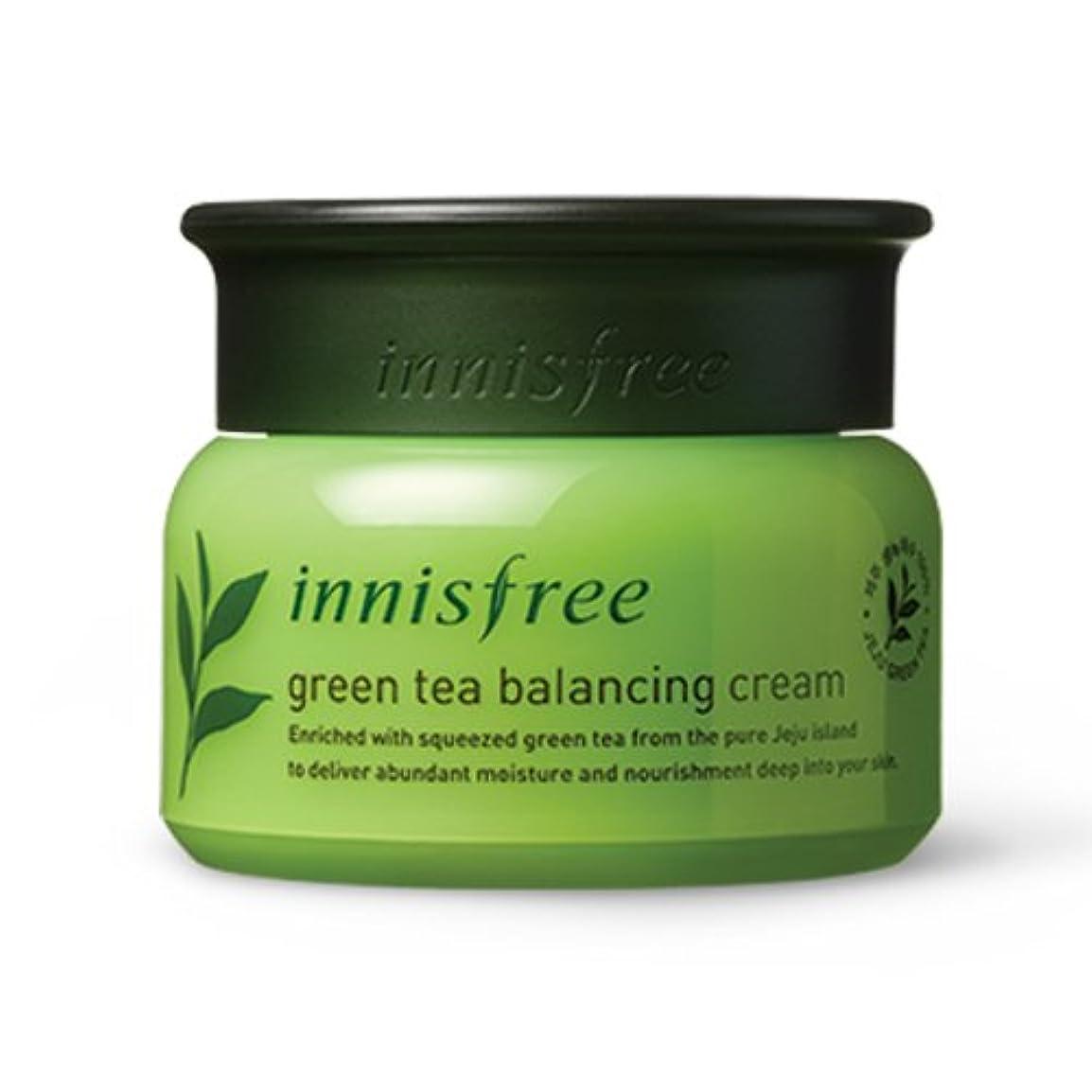 ファンブルモッキンバード貯水池[INNISFREE]イニスフリーグリーンティーバランシング クリーム 50ml green tea balancing cream50ml