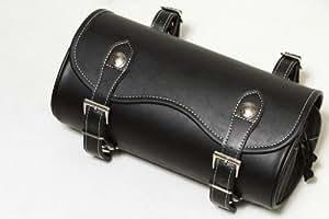 DEGNER(デグナー) ナイロンツールバッグ PVC(合成皮革) 28.5xφ12cm ブラック NB-24