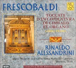 Toccate D'Intavolatura Di Cimbalo Et Organo Book 1