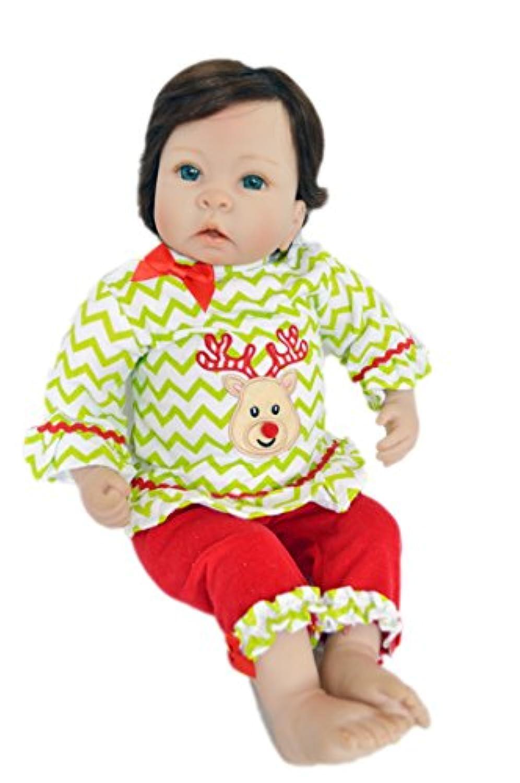 My Brittany's Reindeer Pjs for 20 Inch Dolls- fits Reborn Dolls, Adora Dolls and Middleton Newborn Nursery Dolls-Doll