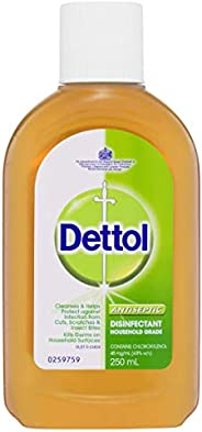 Dettol Classic Antibacterial Disinfectant Liquid, 250ml