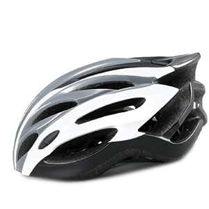 【037】超軽量ジャパンフィットO-cle自転車ヘルメット コンビグレー S~Mサイズ