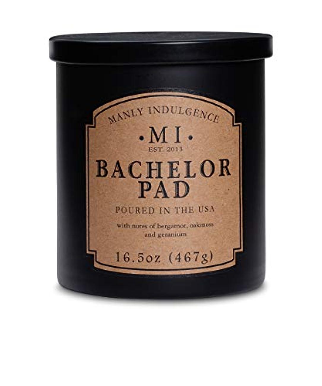 スポークスマンに対して特異なManly Indulgence ミッドナイト香り付きキャンドル 芯1個 16.5オンス 16.5 oz ブラック unknown