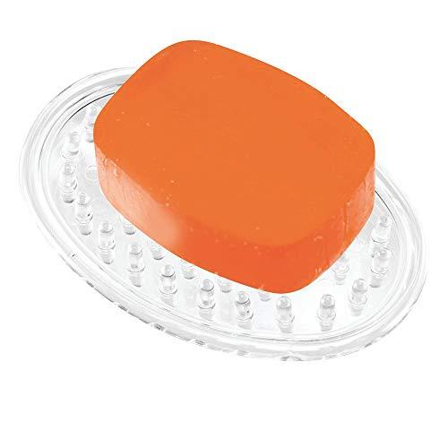 石鹸 ソープ ホルダー トレイ 楕円形 オーバル クリア 30100EJ