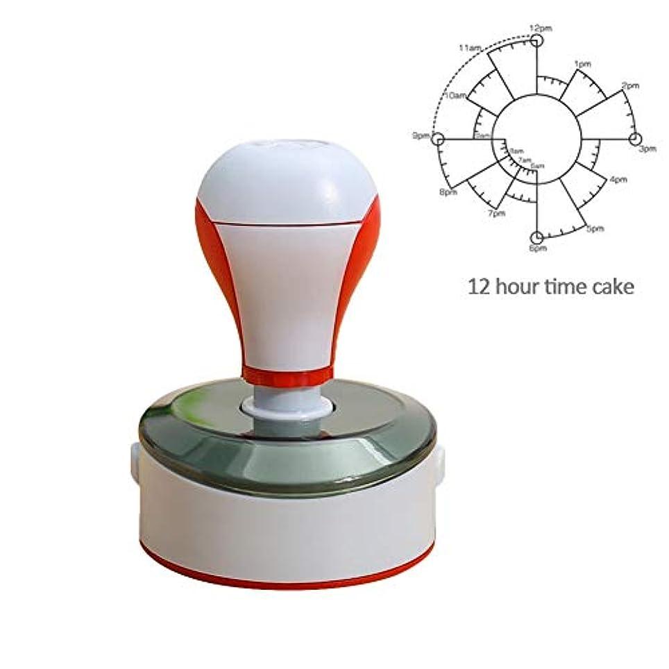 慢なプラスシミュレートするGraprx日付スタンプ感光性学生スタンパ12時間24時間パターン日記デコレーションスクラップブックdiyシールタイムラインスタンプ先生フォスターaスタンプ