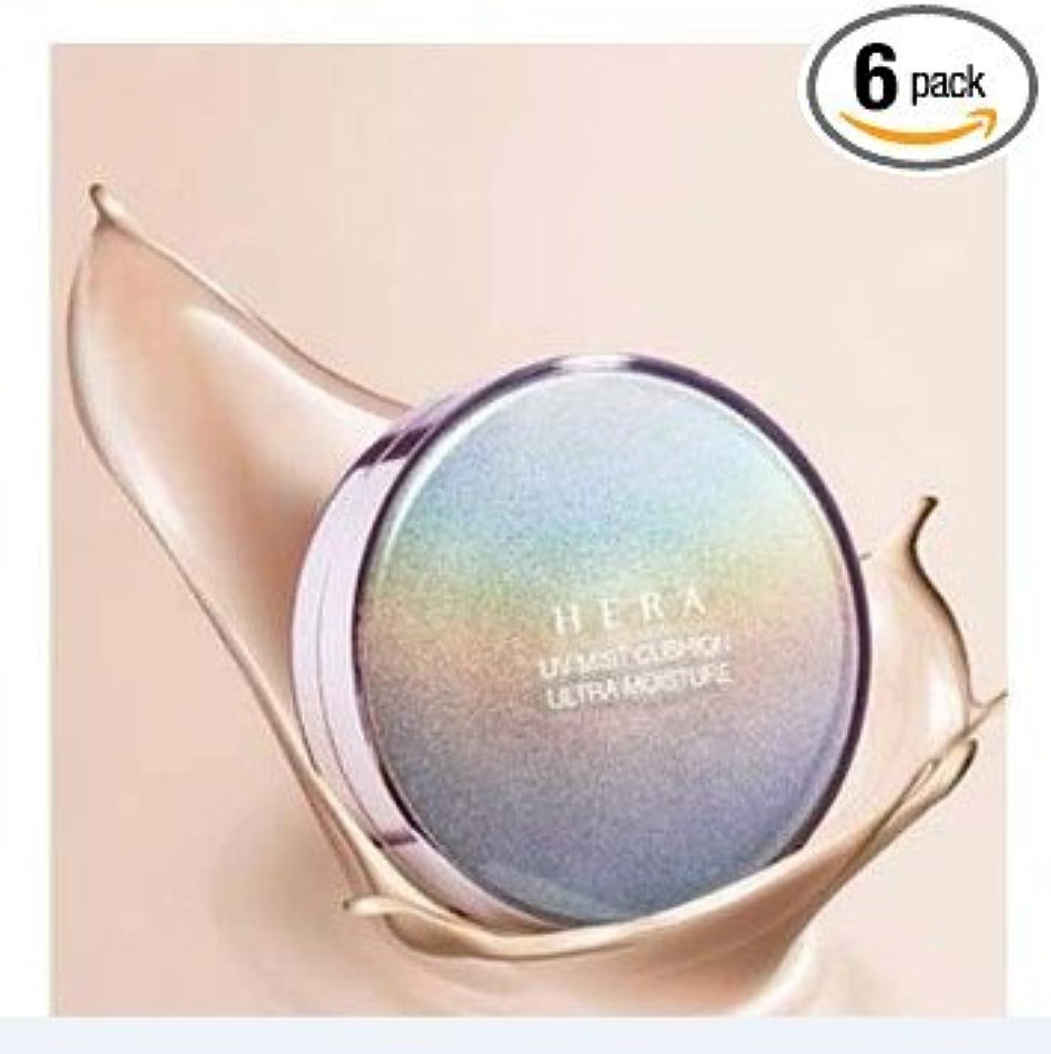 悔い改め放射能メタルラインHERA UV MIST CUSHION ULTRA MOISTURE (SPF34/PA++) 21 Cool Vanilla by Amore Pacific [並行輸入品]