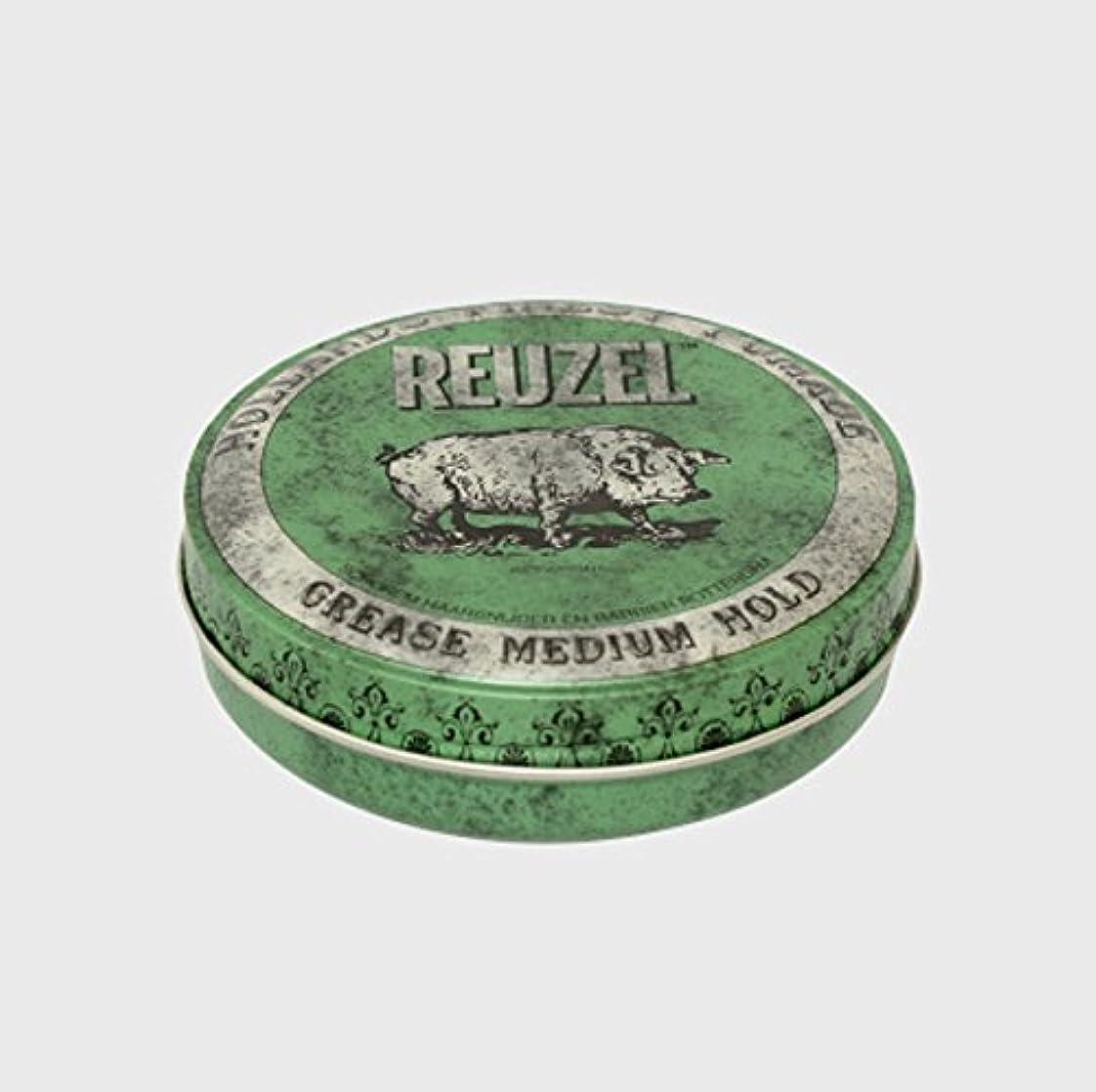 ありがたい比類のない介入するルーゾー ポマード ミディアムホールド グリーン Small(35g)
