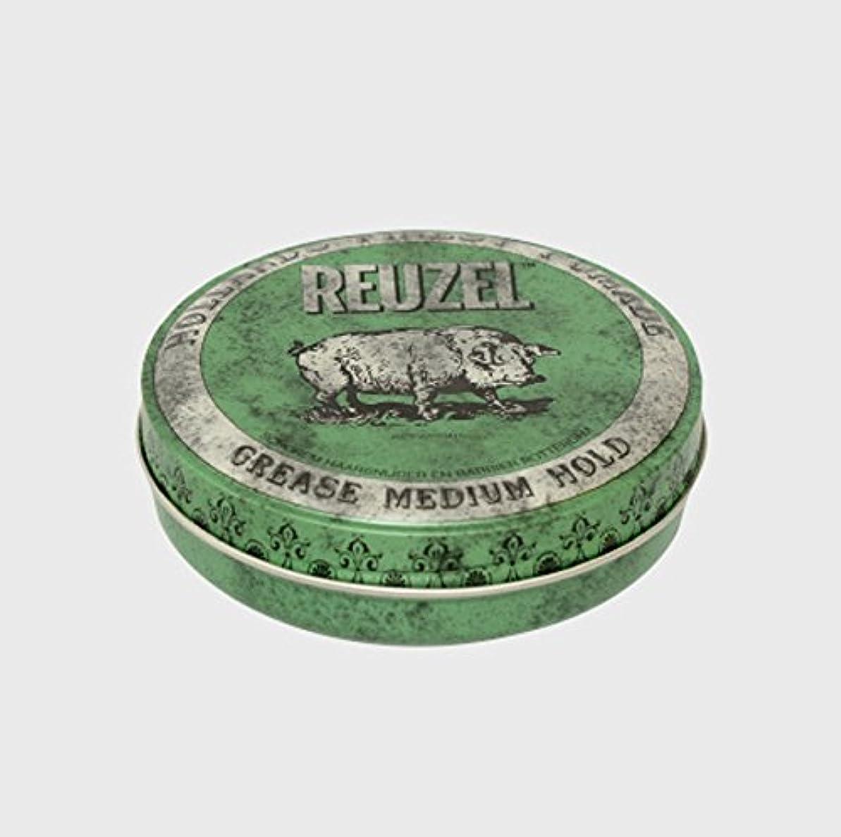 赤面多数のセンチメンタルルーゾー ポマード ミディアムホールド グリーン Small(35g)
