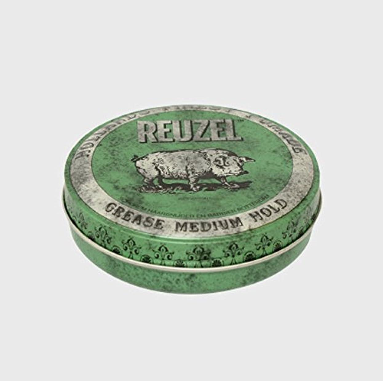 はっきりと穿孔するベッドルーゾー ポマード ミディアムホールド グリーン Large(340g)