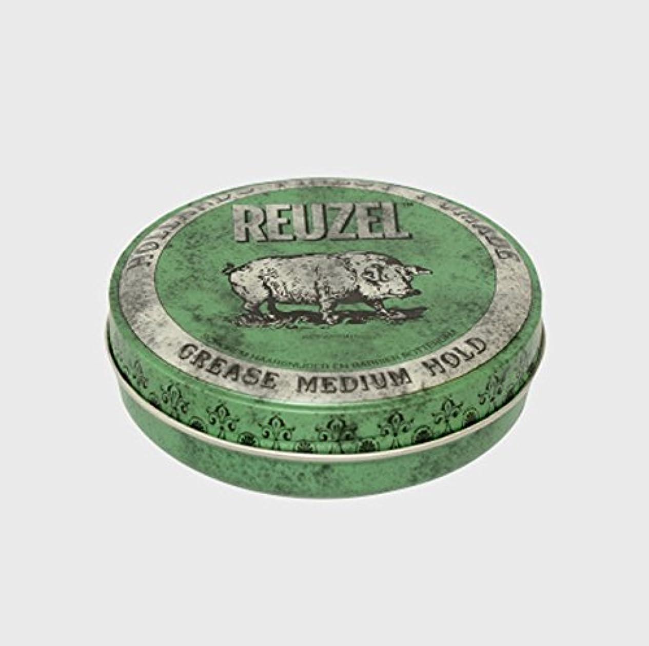 マカダムフック放棄されたルーゾー ポマード ミディアムホールド グリーン Small(35g)