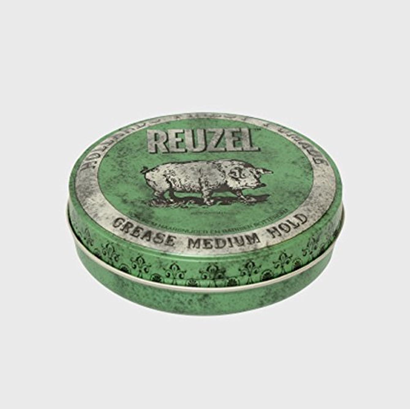 財政部屋を掃除する精神的にルーゾー ポマード ミディアムホールド グリーン Large(340g)