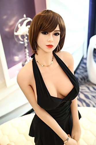 YAM 165CM 等身大 ダッチワイフ フルシリコン ラブドール 送料無料 小な胸 ヨーロッパとアメリカのスタイル small breast sex doll for sex for photograph for display for bar [並行輸入品]