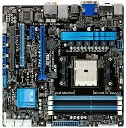 AMD A75 FCHチップセット搭載マザーボード F1A75-M PRO 【M-ATX】