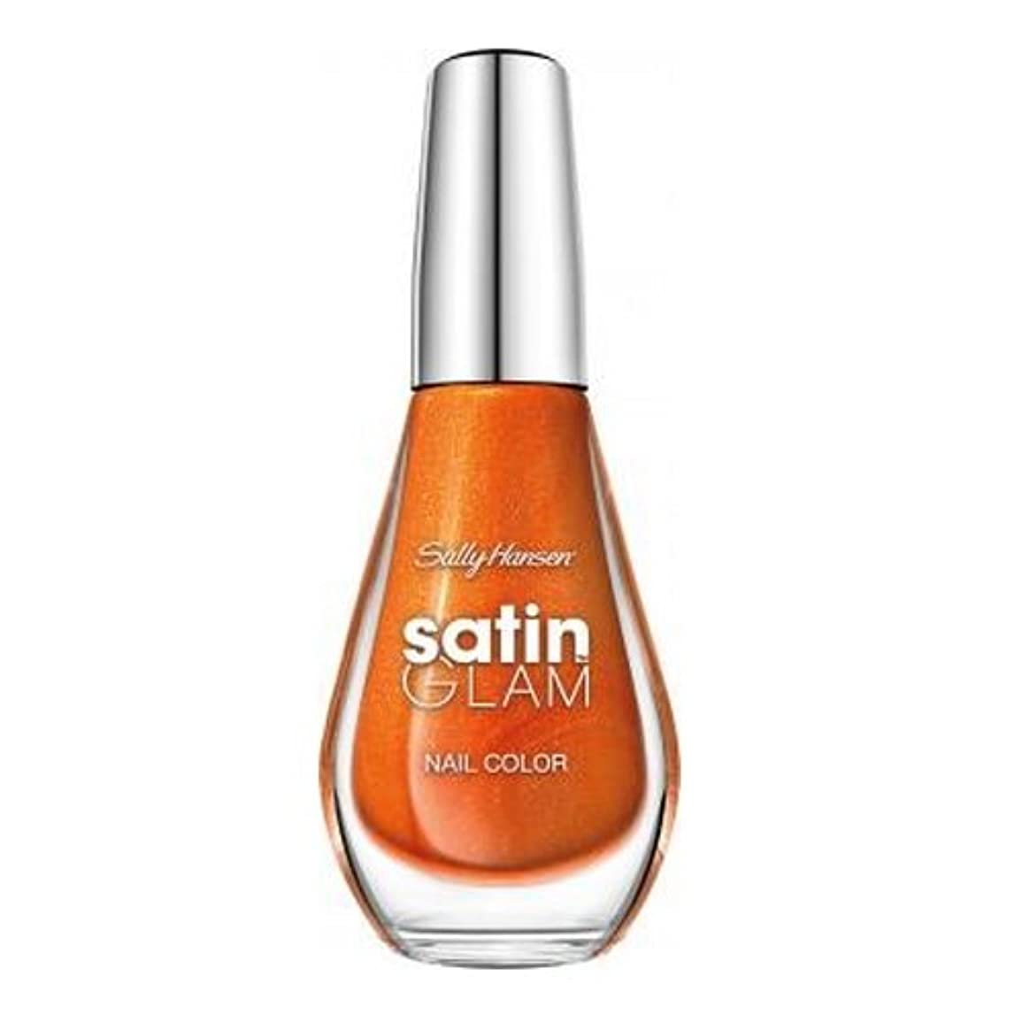 (3 Pack) SALLY HANSEN Satin Glam Shimmery Matte Finish Nail Color - Sun Sheen (並行輸入品)
