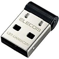 エレコム Bluetooth USBアダプタ Class2 Windows10対応 LBT-UAN05C2/N
