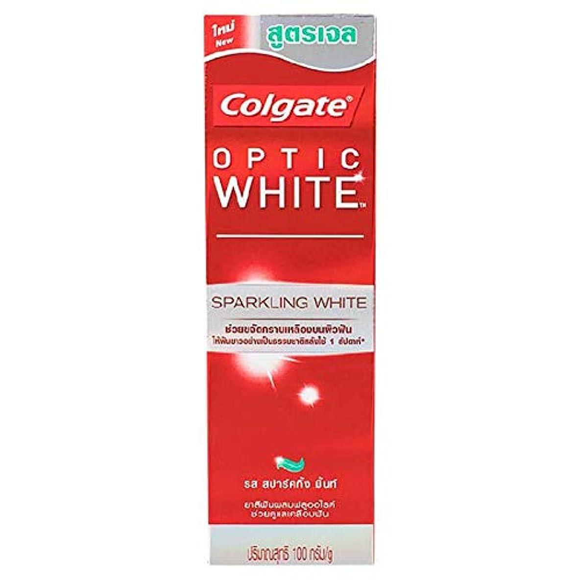 にじみ出る二年生難破船(コルゲート)Colgate 歯磨き粉 「オプティック ホワイト 」 (スパークリングホワイト)