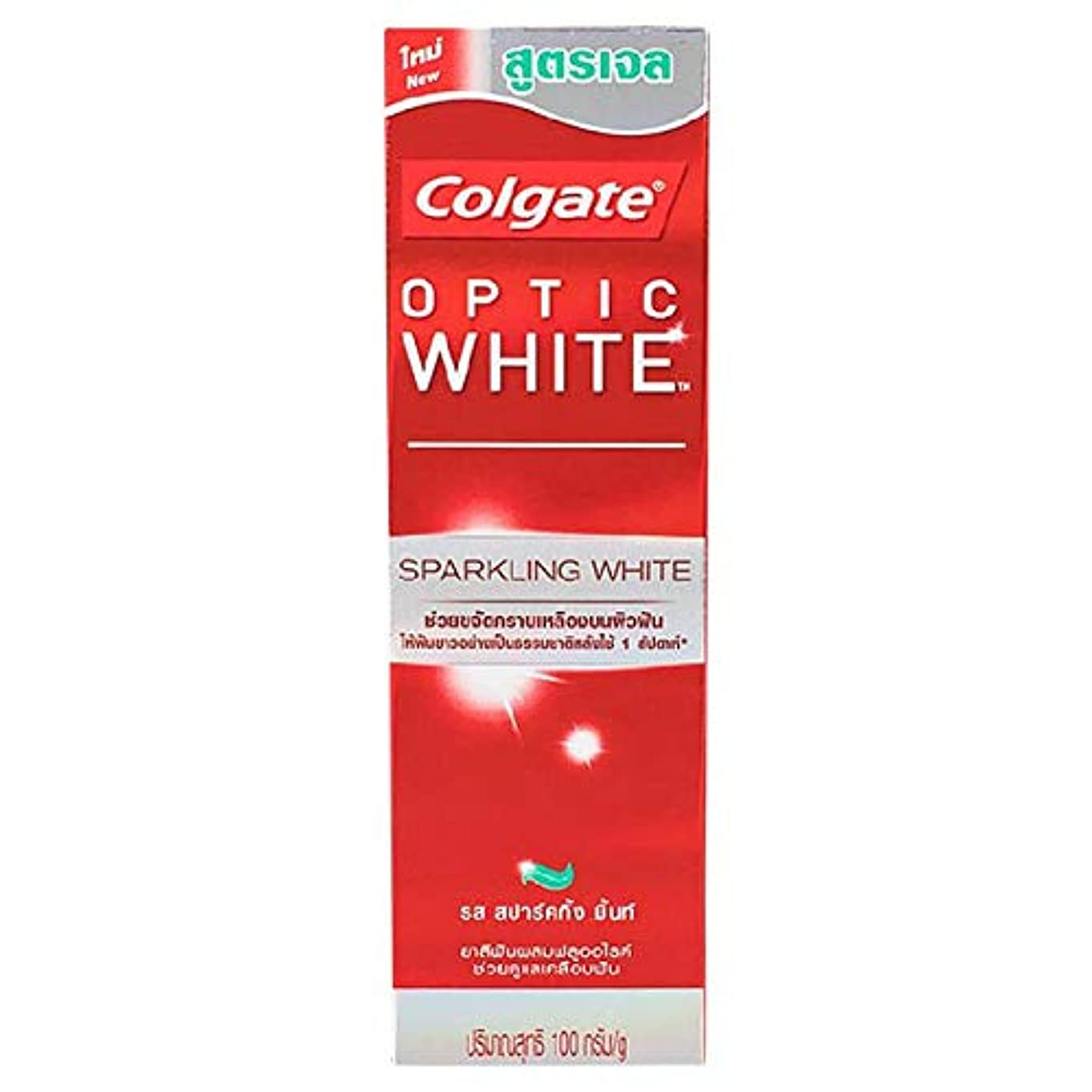 バルーンペレグリネーション断言する(コルゲート)Colgate 歯磨き粉 「オプティック ホワイト 」 (スパークリングホワイト)