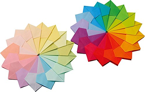 """Japanese Origami 6/"""" 6 Tant Monotone Shade of Colors Paper 48 Sheet Made in Japan"""