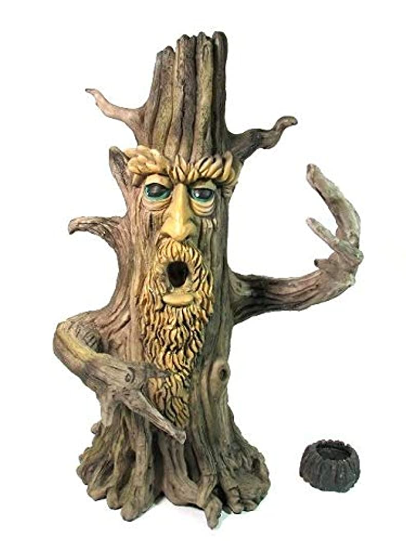 軍団収容する単調な[INCENSE GOODS(インセンスグッズ)] TREE MAN INCENSE BURNER 木の精香立