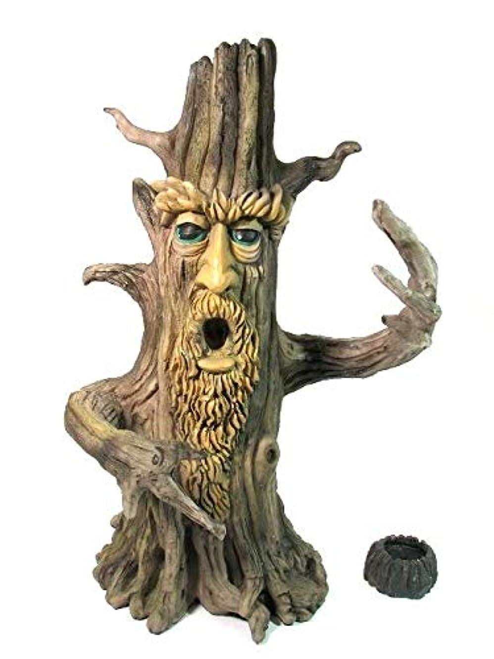 枯れる人形ポンプ[INCENSE GOODS(インセンスグッズ)] TREE MAN INCENSE BURNER 木の精香立