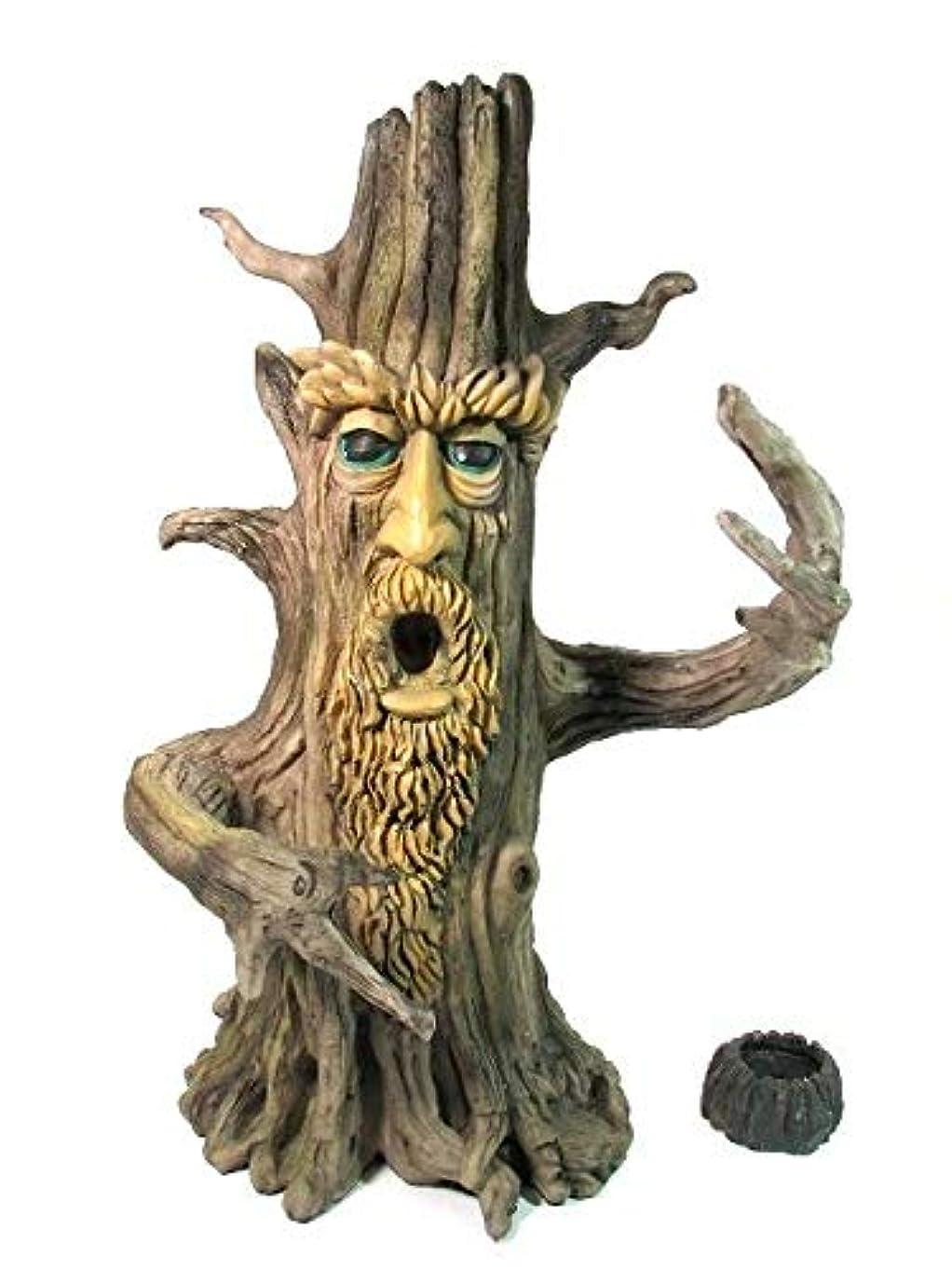 小競り合い望ましい道徳の[INCENSE GOODS(インセンスグッズ)] TREE MAN INCENSE BURNER 木の精香立