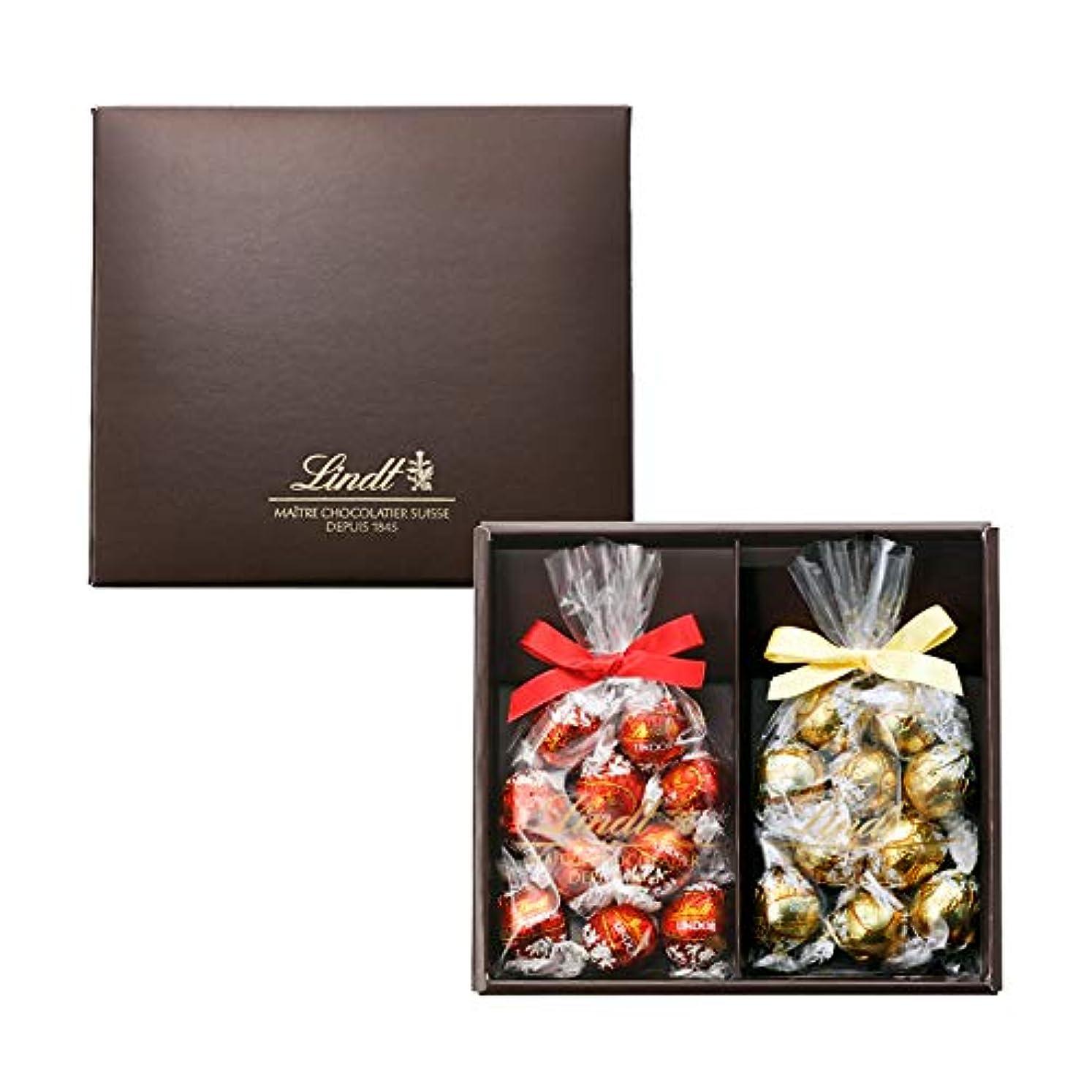 間隔現実にはタイヤリンツ (Lindt) チョコレート リンドール ベストフレーバーセレクト 10個×2袋入