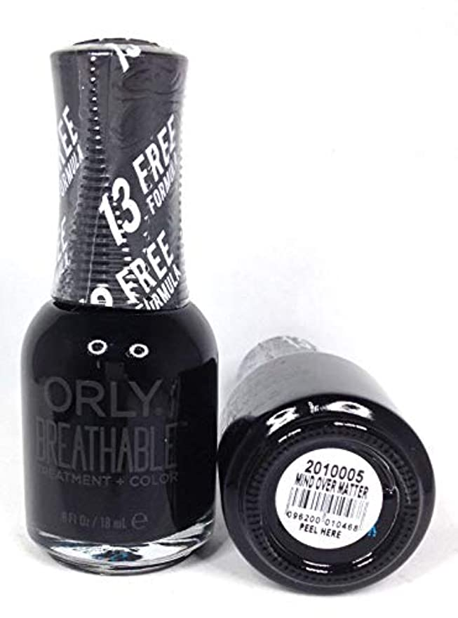 ORLY Breathable Lacquer - Treatment+Color - Mind Over Matter - 18 mL / 0.6 oz