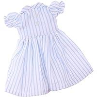 Dovewill  1/6 スケール BJD SDドルフィードール対応 素敵 ストライプ スカート ドレス 装飾