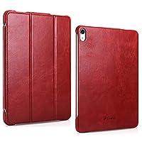 iPad Pro 11 2018 ケース【APOLA】ICARER 本革 牛革 マグネットス吸着式 オートスリープ機能 スリム 軽量 iPad Pro 11インチ 2018年版専用 スマートカバー
