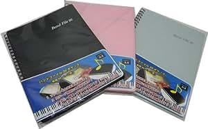 BandFile(バンドファイル) 20ポケット(楽譜40ページ分)ピンク