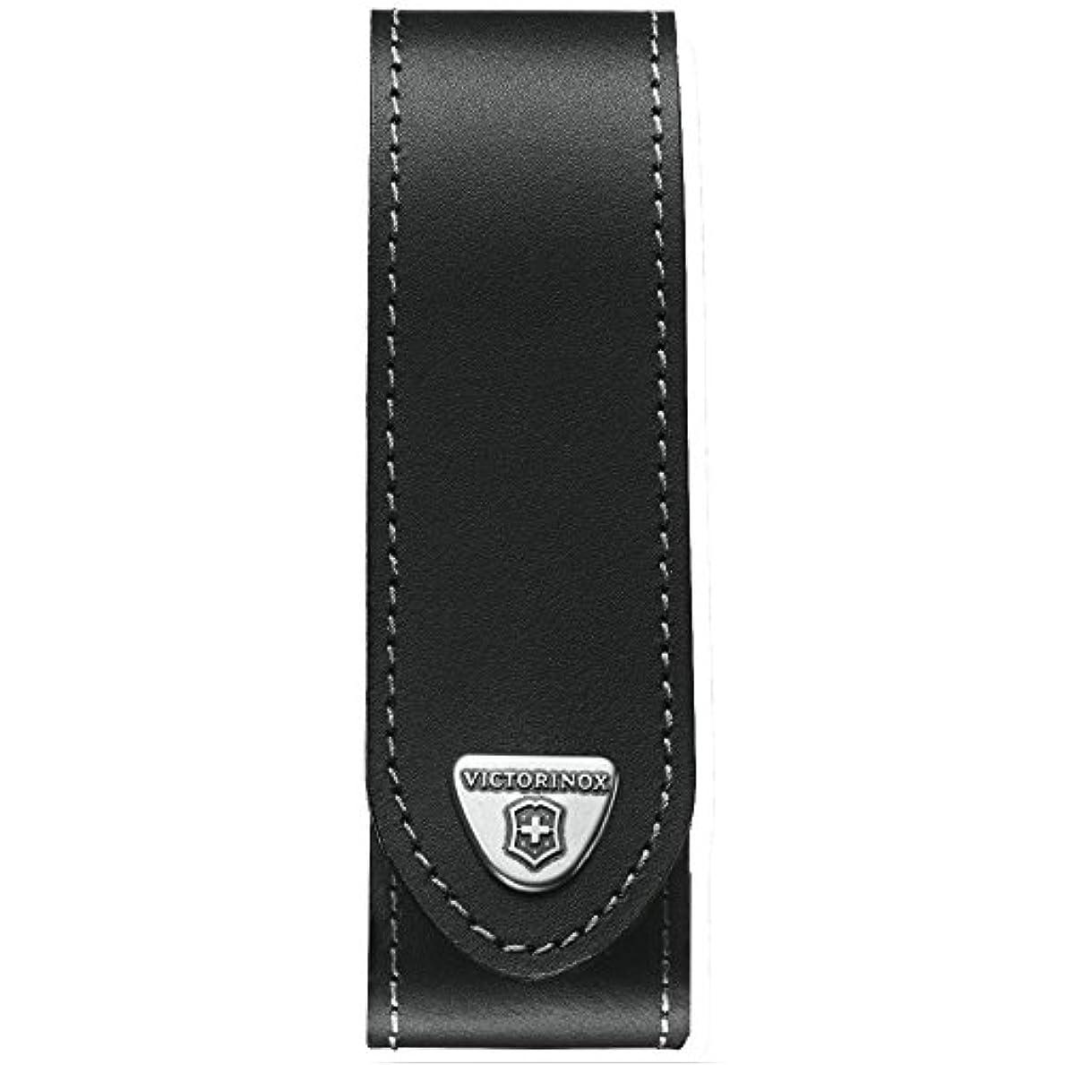 巡礼者ゲージ毒性Victorinox Leather Belt Etui, big, for RANGER GRIP, 4.0506.L