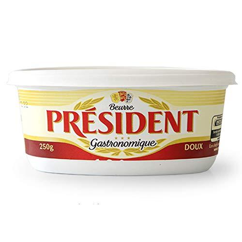 【250g】 プレジデント バター President Beurre フレッシュバター/フランスより冷蔵空輸品 (無塩)