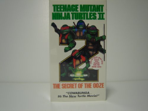Teenage Mutant Ninja Turtles II: The Secret of the Ooze [VHS] [Import]