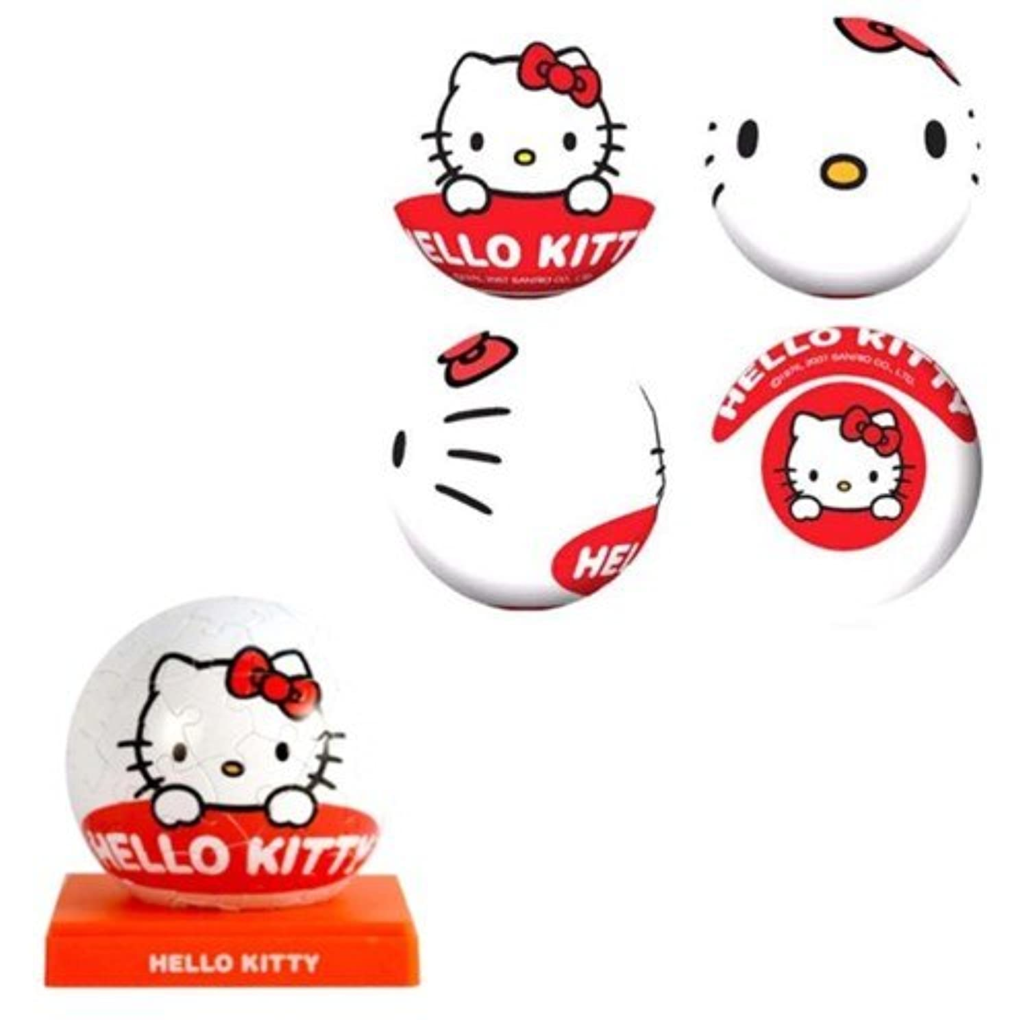 3d Puzzle - 3inch Hello Kitty (Kitty face)