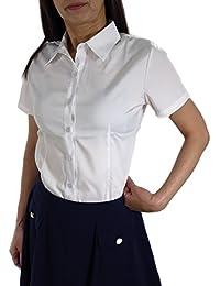 1d12bafe533fa Amazon.co.jp  半袖 - シャツ・ブラウス   トップス  服&ファッション小物