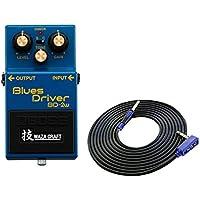 BOSS 技 WAZA CRAFT Blues Driver BD-2W(J) + 3m ギターケーブル VOX VGS-30 セット