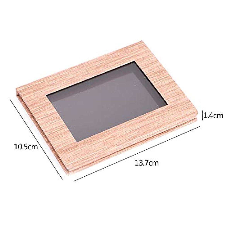 汚染高さネズミSILUN アイシャドウ 口紅 木の穀物 磁気パレットDIY 取り替え可能 構造パレットメイクアップ 便携 収納 組み合わせボックス パレットボック化粧品ケース アイシャドウ パウダー 整理 保管 旅行 便利