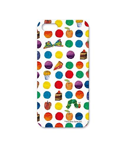 mine case スマートフォンケース はらぺこあおむし エリック・カール/ハード型(キズ、衝撃から画面を守る!保護ガラス付)/DotsCakesFruits〈iPhone Ⅹ〉
